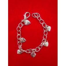 Charm Bracelet Paw Heart