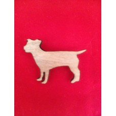 Scruffy Dog Brooch