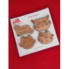 Funny Cat Fridge Magnet Set
