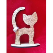 Cat Ring Stand Large