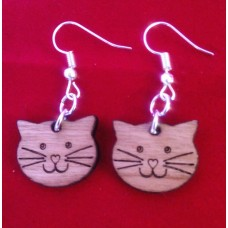 Earrings Smiley Cat