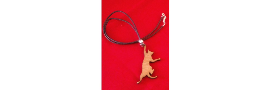 Dangle Cat Necklace