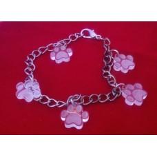 Charm Bracelet Paw Prints