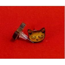 Stud Earring Cat