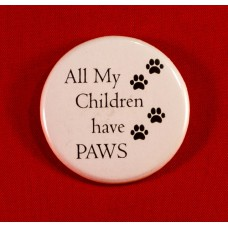 All My Children Button Magnet