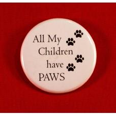 All My Children Button Magnet